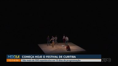 Começa o festival de Curitiba - São mais de 350 espetáculos em treze dias de festival.