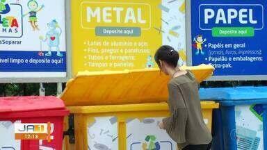 Programa Coleta Palmas direciona lixo reciclável para catadores e associações - Programa Coleta Palmas direciona lixo reciclável para catadores e associações