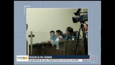 Vereador Cláudio Prates (PTB) renuncia ao mandato - Prates foi o mais bem votado em Montes Claros por dois anos consecutivos; ele renunciou durante reunião ordinária desta terça-feira (26).