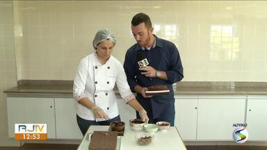 Dia do Chocolate: confeiteira mostra novidades para Páscoa - Saiba como fazer um delicioso ovo de colher.
