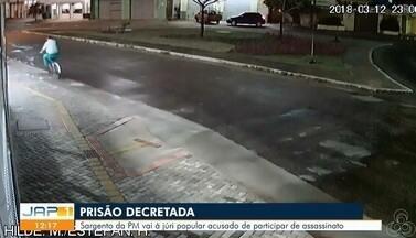 Justiça do AP converte prisão domiciliar de PM acusado de mandar matar testemunha - José Wilson Maciel de Cantuária vai a júri popular. Crime ocorreu em março de 2018, no bairro Muca.