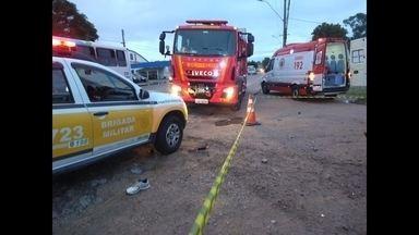 Jovem de 18 anos morre após 8 dias do acidente na ERS-734 - Alison Lemos Martins era Marinheiro recruta, chegou a ser transferido para o Hospital Marcílio Dias, mas não resistiu.