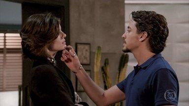 Vanessa diz para Jerônimo ter cuidado com o Duque - Vanessa e Jerônimo se provocam