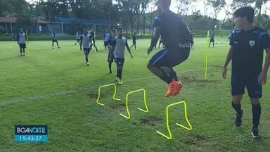 Londrina aproveita semana livre para se preparar para jogo contra Athlético - O jogo será no próximo domingo, se vencer, o Lec se classifica pras semifinais.