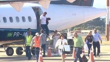 Aeroporto de Rio Preto se torna o mais movimentado dos administrados pelo Daesp - O aeroporto de São José do Rio Preto (SP) se tornou o mais movimentado em número de passageiros, pousos e decolagens, entre os administrados pelo Departamento Aeroviário do Estado de São Paulo.