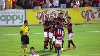 Os gols de Atlético-GO 4x1 Anapolina pelo Goianão - Dragão goleia a Rubra no Accioly e avança à semifinal