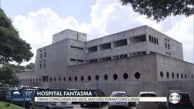 Inauguração de hospital na Asa Norte está atrasada há 12 anos - O Instituto da Criança e do Adolescente foi projetado pela Universidade de Brasília (UnB) para funcionar na área do Hospital Universitário de Brasília (HUB), mas as obras, que começaram em 2003, não foram concluídas. A previsão inicial era de que ele fosse inaugurado em 2007.