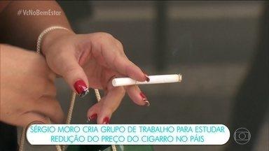 Cigarros mais baratos aumentam o hábito de fumar, dizem especialistas - A decisão do ministro da Justiça Sérgio Moro, que criou um grupo para estudar a redução dos impostos dos cigarros no Brasil, gerou polêmica.
