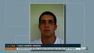 Jonathan Souza da Silva, suspeito de participar da morte de taxista, está foragido - Segundo a polícia, ele já tem passagens por violência doméstica, roubo e inquérito por estupro.