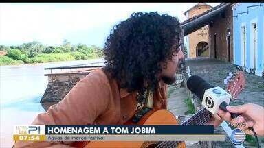 Festival Águas de Março faz tributo a Tom Jobim no Litoral do Piauí - Festival Águas de Março faz tributo a Tom Jobim no Litoral do Piauí