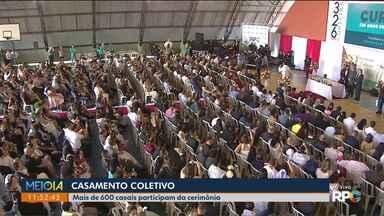 Quase 600 casais participam de casamento coletivo - Cerimônia é hoje (29) no Carmo.