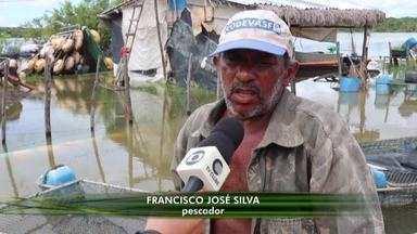 Chuvas provocam prejuízos para pescadores no litoral piauiense - Chuvas provocam prejuízos para pescadores no litoral piauiense