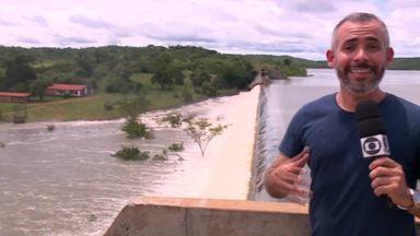 Barragem Mesa de Pedra, em Valença, atinge 100% da capacidade - Barragem Mesa de Pedra, em Valença, atinge 100% da capacidade