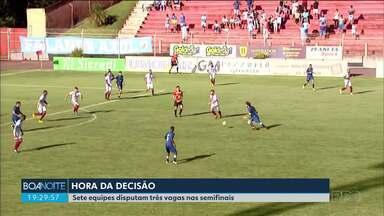 Domingo é de rodada decisiva pelo Campeonato Parananense - Rodada define os classificados para as semifinais do segundo turno.