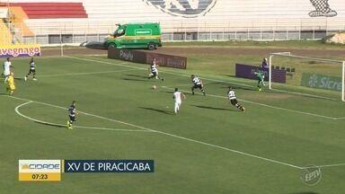 XV Piracicaba e Inter de Limeira vão decidir classificação fora de casa - O XV de Piracicaba completou neste sábado (30), a quarta partida consecutiva sem vitória na Série A2 do Campeonato Paulista.