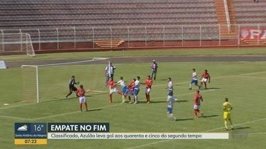 Noroeste empata com Monte Azul na primeira fase da série A3 do Campeonato Paulista - Norusca enfrentará o Barretos, quanto Monte Azul fará duelo contra o Capivariano nas quartas de final da Série A3. Datas e horários dos jogos ainda serão definidos pela Federação.