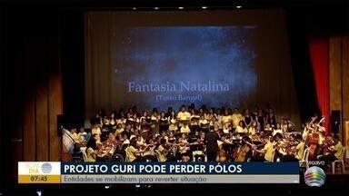 Possível fechamento de pólos do Guri no Oeste Paulista gera grande repercussão - Programa atende vários jovens de 6 a 18 anos.