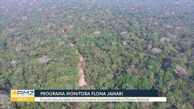 Programa monitora Flona do Jamari - Encontro discutiu ações de monitoramento da biodiversidade na floresta nacional