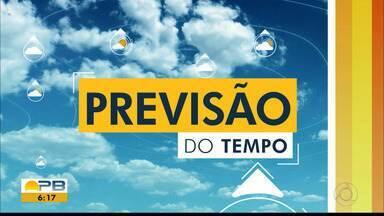 Veja previsão do tempo desta segunda-feira, 1º - Do Litoral ao Sertão.