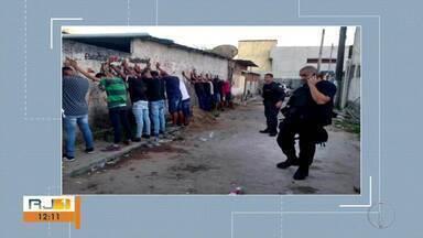 Polícias Civil e Militar acabam com festa de gerente do tráfico em Cabo Frio, no RJ - Assista a seguir.