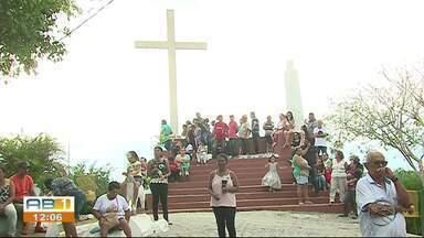 Santuário de Frei Damião é reaberto em São Joaquim do Monte - Após seis meses, o espaço que foi reinaugurado e recebeu vários retoques.