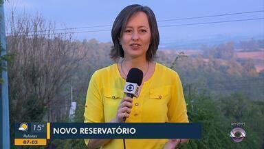 Bagé tem novo reservatório de água com capacidade para 4 milhões de litros - A aquisição custou 3 milhões de reais.