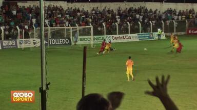 Candangão: Paracatu vence o Brasiliense na semifinal - Mineiros podem empatar no jogo de volta. Real e Gama se enfrentam nesta quinta-feira (04/04).