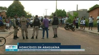 Cresce o número de assassinatos em Araguaína; relembre os últimos casos - Cresce o número de assassinatos em Araguaína; relembre os últimos casos