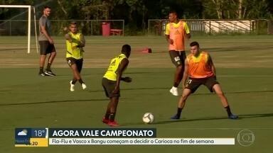 Campeonato Carioca na reta final - Fla-Flu e Vasco x Bangu definem quem vai decidir o Campeonato Carioca.