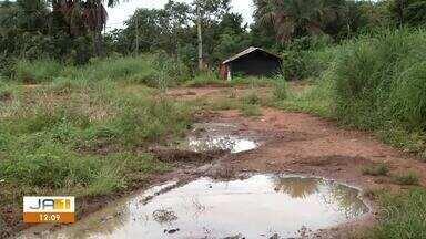 Falta de infraestrutura prejudica acesso de moradores ao Morada do Sol - Falta de infraestrutura prejudica acesso de moradores ao Morada do Sol