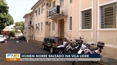 Homem morre baleado em intervenção da PM em Presidente Prudente - Ocorrência foi registrada nesta sexta-feira (5), na Vila Líder.