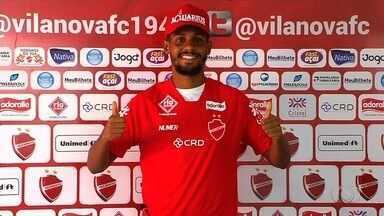 Vila apresenta volante que vai reforçar o clube na Série B e na Copa do Brasil - Ramon chega ao Tigre após indicação do técnico Eduardo Baptista