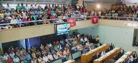 Câmara Municipal dá sequência às discussões sobre regularização de áreas em Uberlândia - Vereadores debatem sobre situação de loteamentos e chácaras na cidade. A regularização também já se tornou assunto para a Justiça.