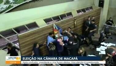 Após briga generalizada, Marcelo Dias é escolhido presidente da Câmara de Vereadores - Presidente interino afirmou que ato não teve legitimidade. Eleição foi suspensa após confusão entre parlamentares na tarde desta quinta (4).