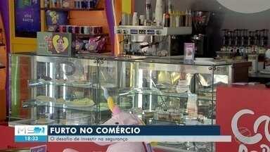 Comerciantes investem em segurança para evitar prejuízos - Em Campo Grande.