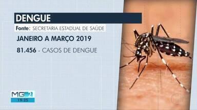 Casos confirmados de dengue têm redução em Governador Valadares - Apesar do número menor, prefeitura faz alerta para os moradores manterem cuidados.