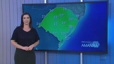 Tempo: chuva deve diminuir neste sábado (6), no RS - Assista ao vídeo.