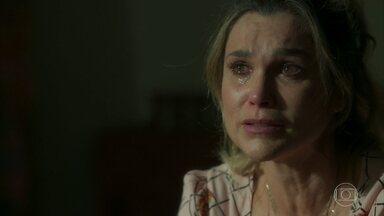 Afrodite consola Rita de Cássia - Rita de Cássia chora muito e fica inconsolável