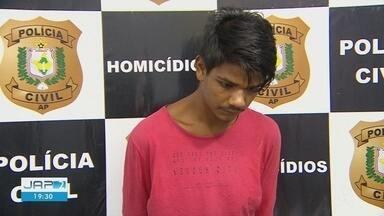 Polícia prende suspeito de matar jovem que tentou separar briga de homem e mulher no AP - Crime aconteceu em janeiro deste ano; segundo investigado está foragido.