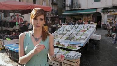 10 Mercados italianos que são um programa cultural - Titi vai percorrer os dez mercados mais interessantes e variados da Itália. Em Palermo, ela passeia pelo Mercato delle pulci ou Mercado de Pulgas.