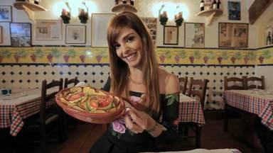 10 Tascas portuguesas de tradição - Em Coimbra, Titi prova uma sopa na tasca Zé Manel dos Ossos. Ela também visita uma tasca especializada em polvo, no Algarve. Em Lisboa, ela come frutos do mar na Cervejaria Ramiro.