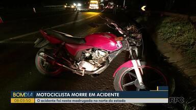 Motociclista morre em rodovia no norte do estado - Foi na PR-444, em Arapongas
