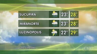Confira como fica a previsão do tempo para áreas produtoras do Tocantins - Confira como fica a previsão do tempo para áreas produtoras do Tocantins