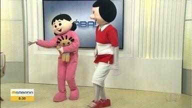 Personagens do Cabeça Oca fazem peça contra bullying - Espetáculo estreia neste domingo, em Goiânia.
