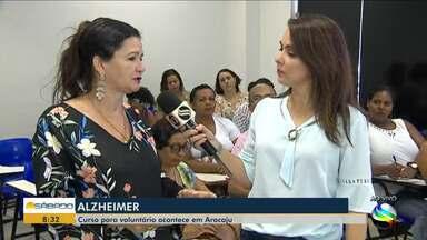 Curso para voluntários para tratamento de pacientes com Alzheimer acontece em Aracaju - Doença não tem cura e se agrava ao longo do tempo vai se agravando.