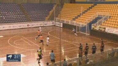 Campeonato Paulista de Futsal: Araraquara empata com o Taubaté no Gigantão - Próxima partida é na quinta-feira (11) contra Campinas.