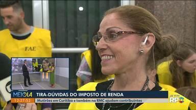 Tira-dúvidas do Imposto de Renda no Meio-Dia Paraná - Professora responde, ao vivo, no Meio-Dia Paraná as dúvidas sobre a declaração do Imposto de Renda.