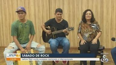 Conheça o pop rock da cantora Letícia Stair - Projeto iniciado em casa, agora faz apresentações na noite amapaense.