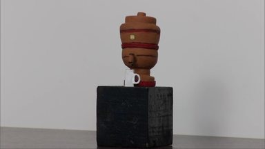 Exposição de artesanatos em miniatura ocorre no Museu Regional do Norte de Minas, em MOC - A visitação pode ser feita de terça a sexta-feira, de 8h às 15h30 e aos domingos, de 9h às 13h; artesão Ney Viana faz peças em miniaturas, em Montes Claros.