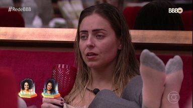 Paula fica confusa em relação a sua indicação - Ela diz que não tem motivos fortes para indicar Gabriela e Rízia